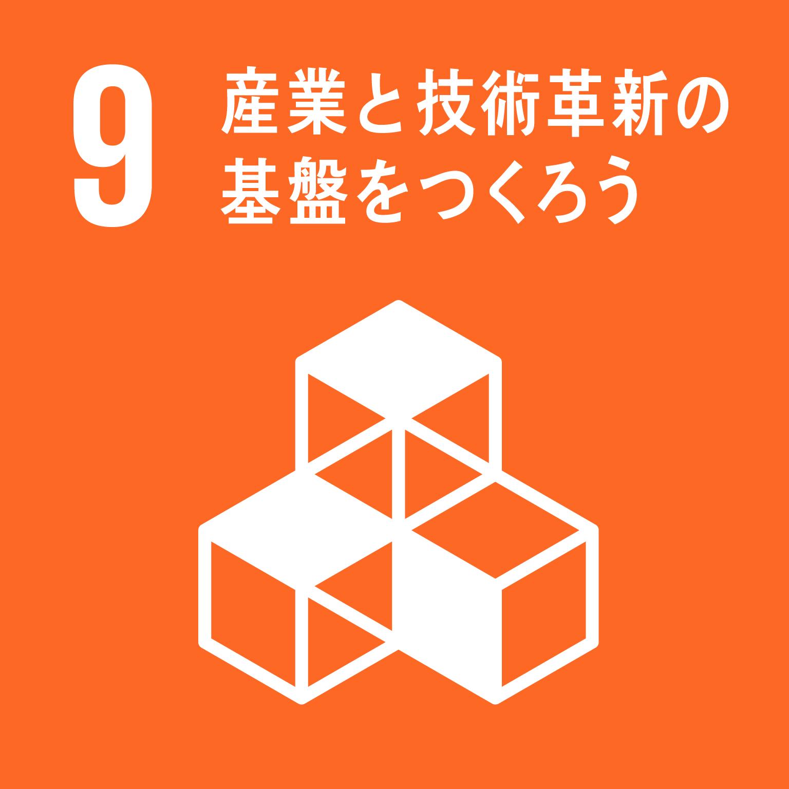 9. 産業と技術革新の基盤をつくろう